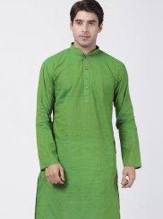 Green Color Kurta Pyjama