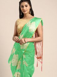 Green Designer Traditional Saree