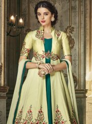 Green Embroidered Anarkali Salwar Kameez