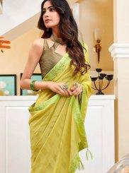 Green Fancy Classic Saree