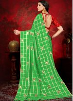 Green Fancy Traditional Saree