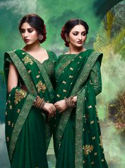 Green Festival Silk Classic Saree