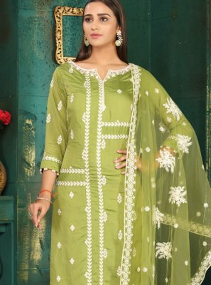 Green Readymade Suit