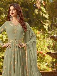 Green Sangeet Designer Salwar Suit