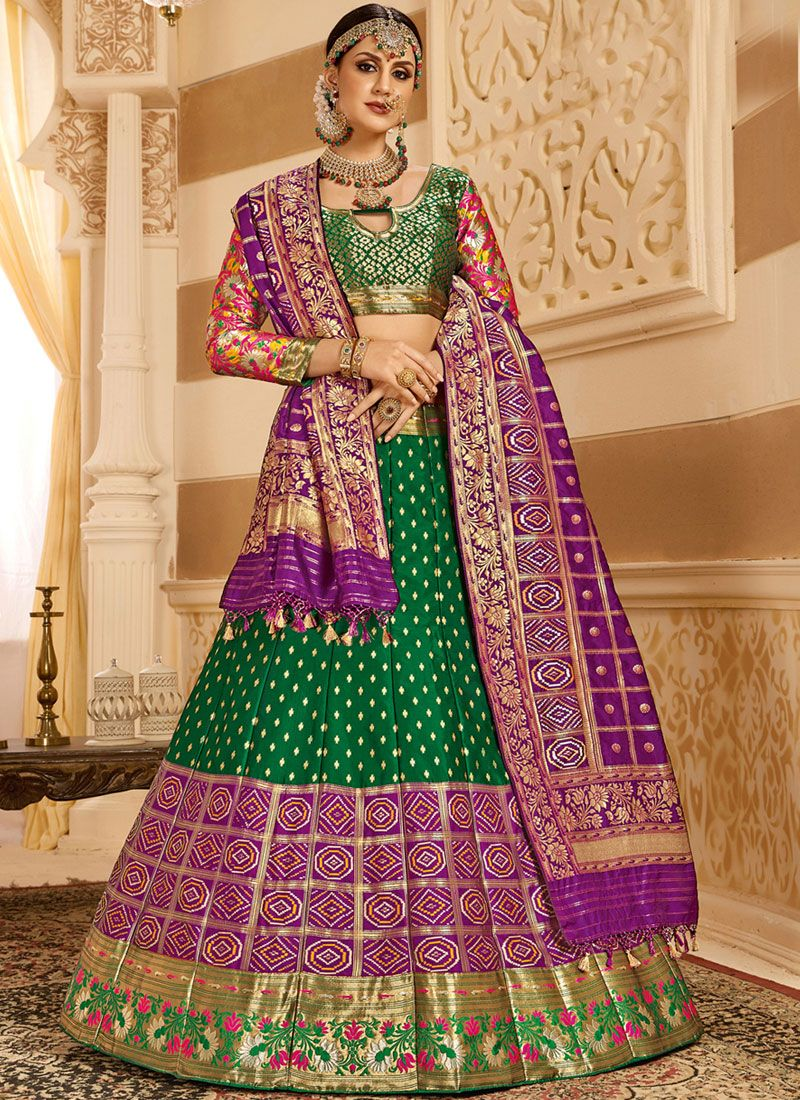 e6df69e920 Buy Sangeet Functtion Wear Art Silk Designer Lehenga Choli In Wine Color  With Attractive Blouse Online 162SignatureV24002