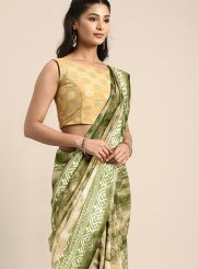 Green Weaving Designer Traditional Saree