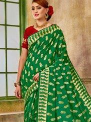 Green Weaving Designer Traditional Saree
