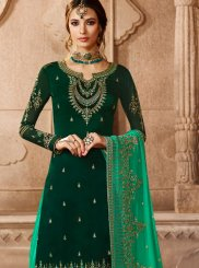 Green Wedding Designer Pakistani Suit