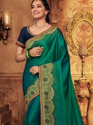 Green Wedding Designer Traditional Saree