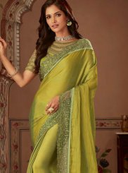 Green Wedding Saree