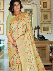 Handloom silk Ceremonial Traditional Designer Saree