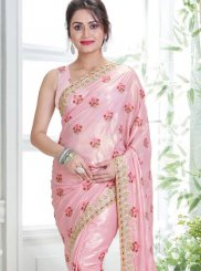 Handwork Tissue Designer Traditional Saree