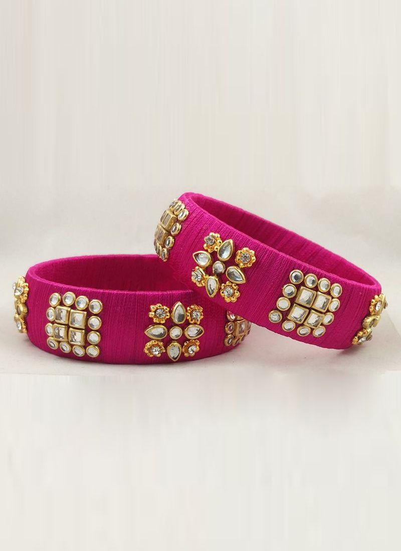 Hot Pink Bangles