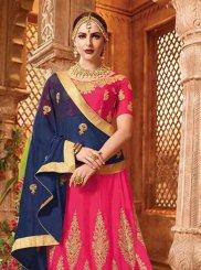Hot Pink Sangeet Lehenga Choli