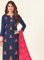 Jacquard Casual Churidar Suit