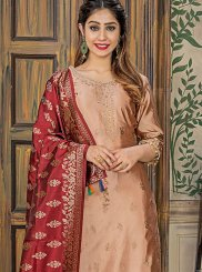 Jacquard Designer Pakistani Salwar Suit