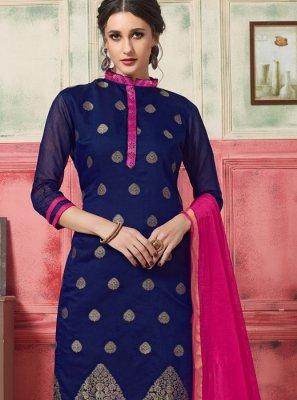 Jacquard Silk Festival Designer Suit