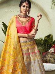 Jacquard Silk Resham Lehenga Choli