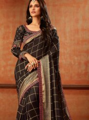 Jacquard Silk Resham Traditional Saree