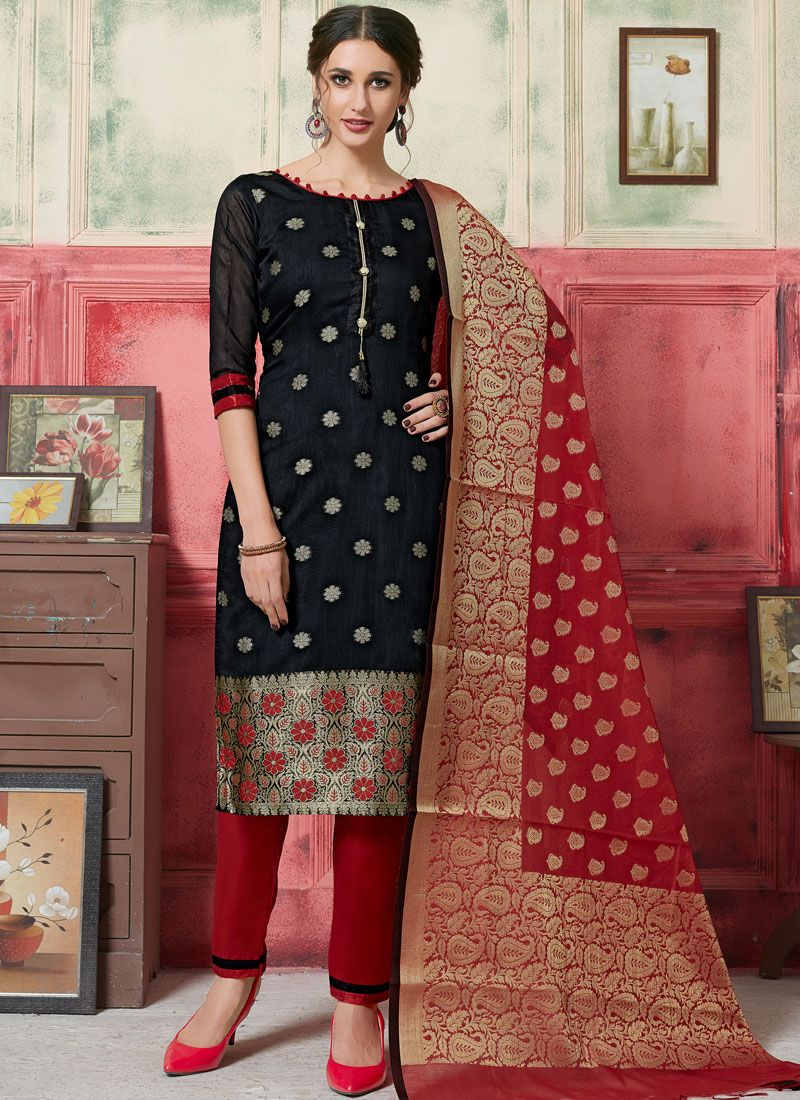 Jacquard Silk Weaving Designer Suit