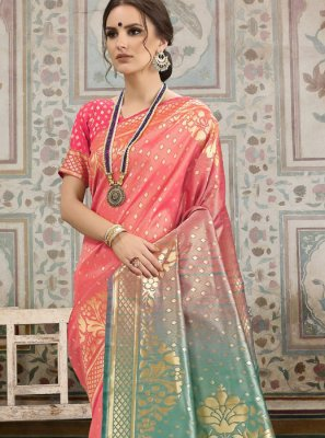 Kanchipuram Silk Woven Traditional Saree