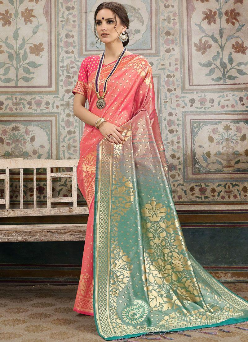 Kanchipuram Silk Woven Traditional Saree