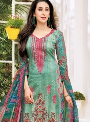 Karishma Kapoor Multi Colour Satin Pant Style Suit