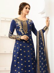 Lace Designer Palazzo Salwar Suit
