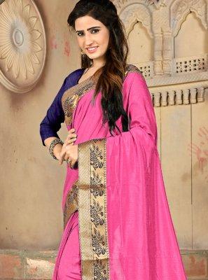 Lace Silk Designer Saree
