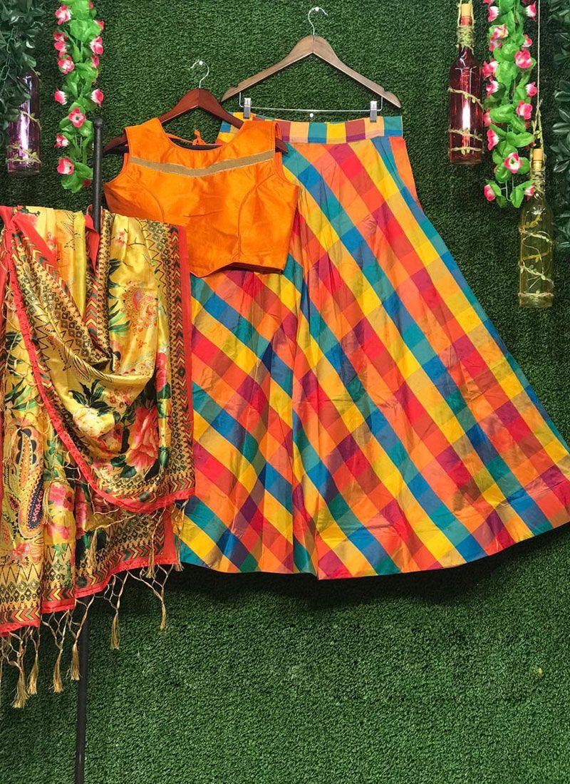Lehenga Choli For Ceremonial