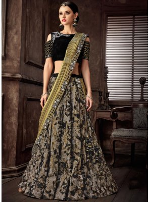 Lehenga Style Saree For Reception