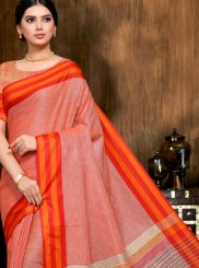 Linen Multi Colour Classic Saree