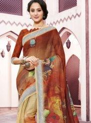 Linen Trendy Saree