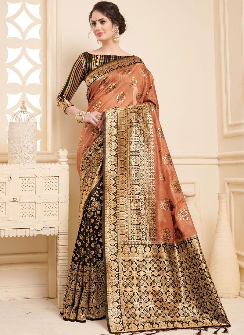 Linen Woven Designer Saree