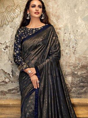Lycra Fancy Designer Saree