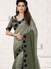 Lycra Party Classic Saree