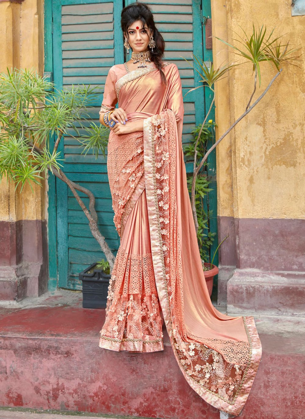 Lycra Trendy Saree