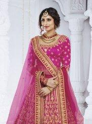Magenta Color Designer Lehenga Choli