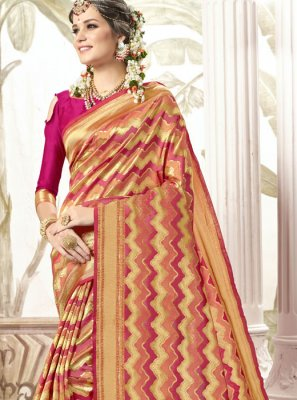 Magenta Traditional Saree