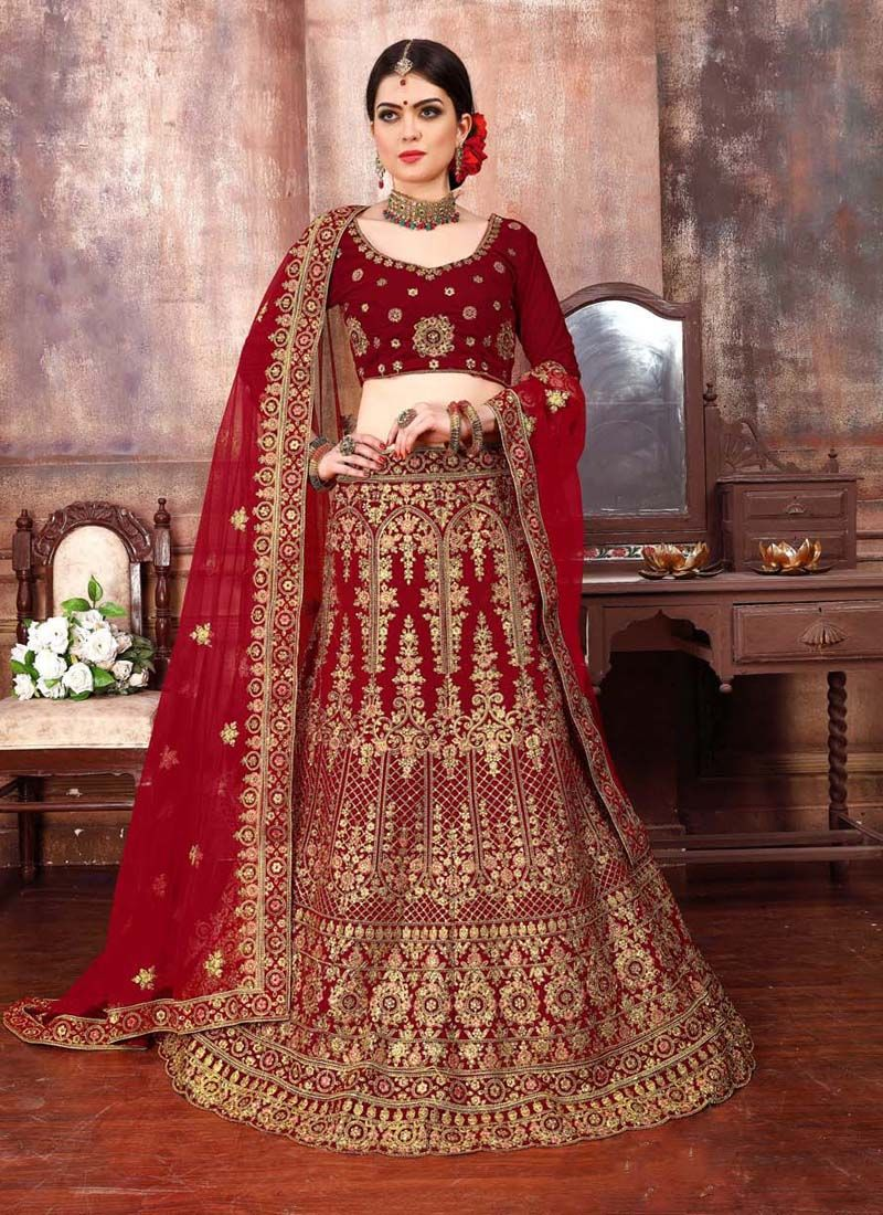 Malbari Silk  Wedding Designer Lehenga Choli