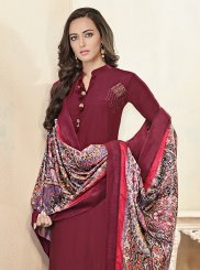 Maroon Ceremonial Readymade Suit