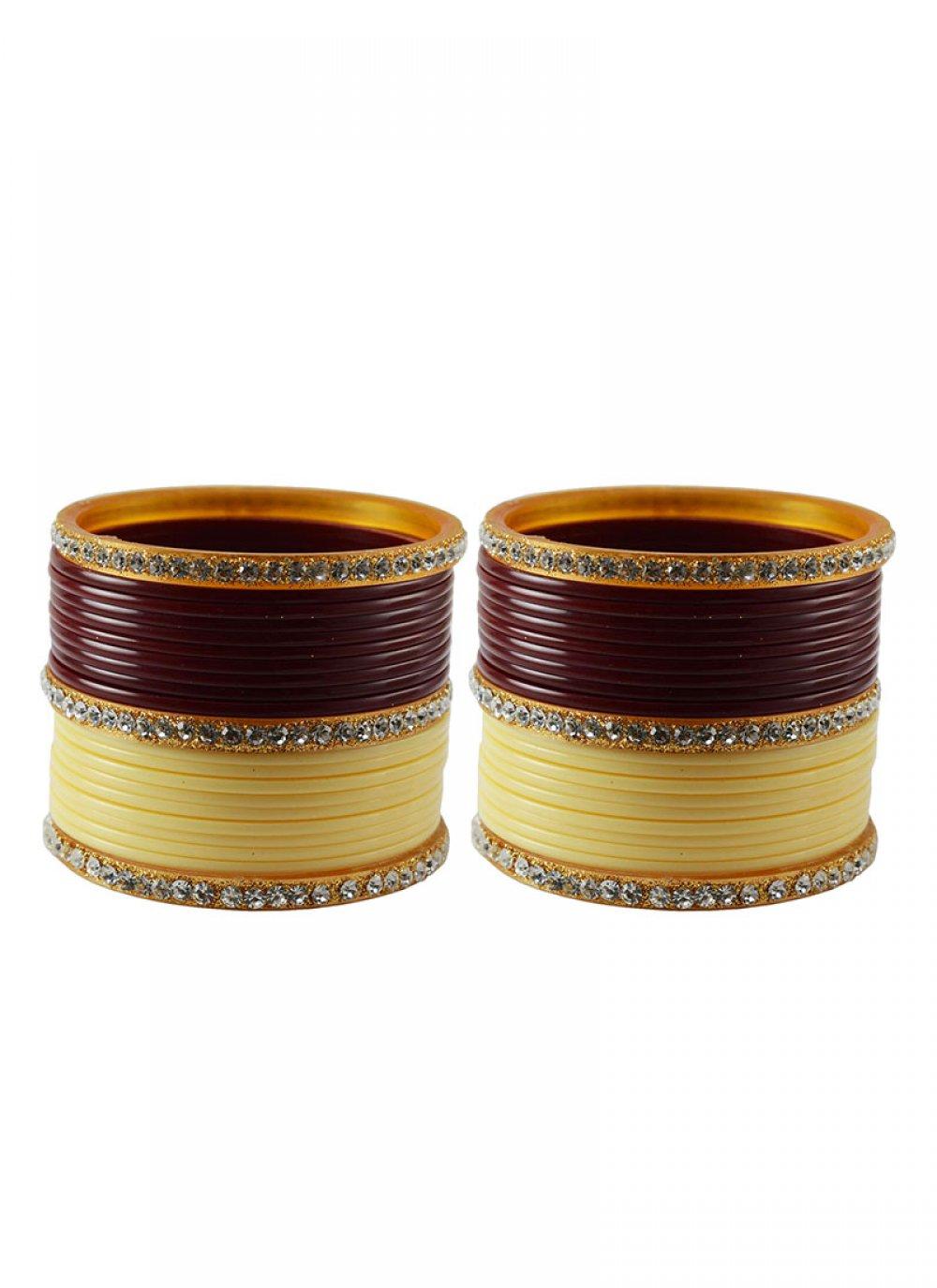 Maroon Color Bangles