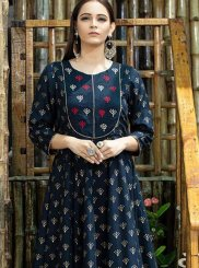 Maslin Cotton Trendy Gown