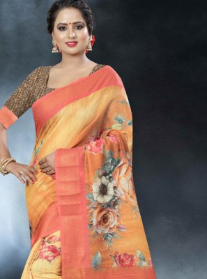 Multi Colour Aari Classic Designer Saree