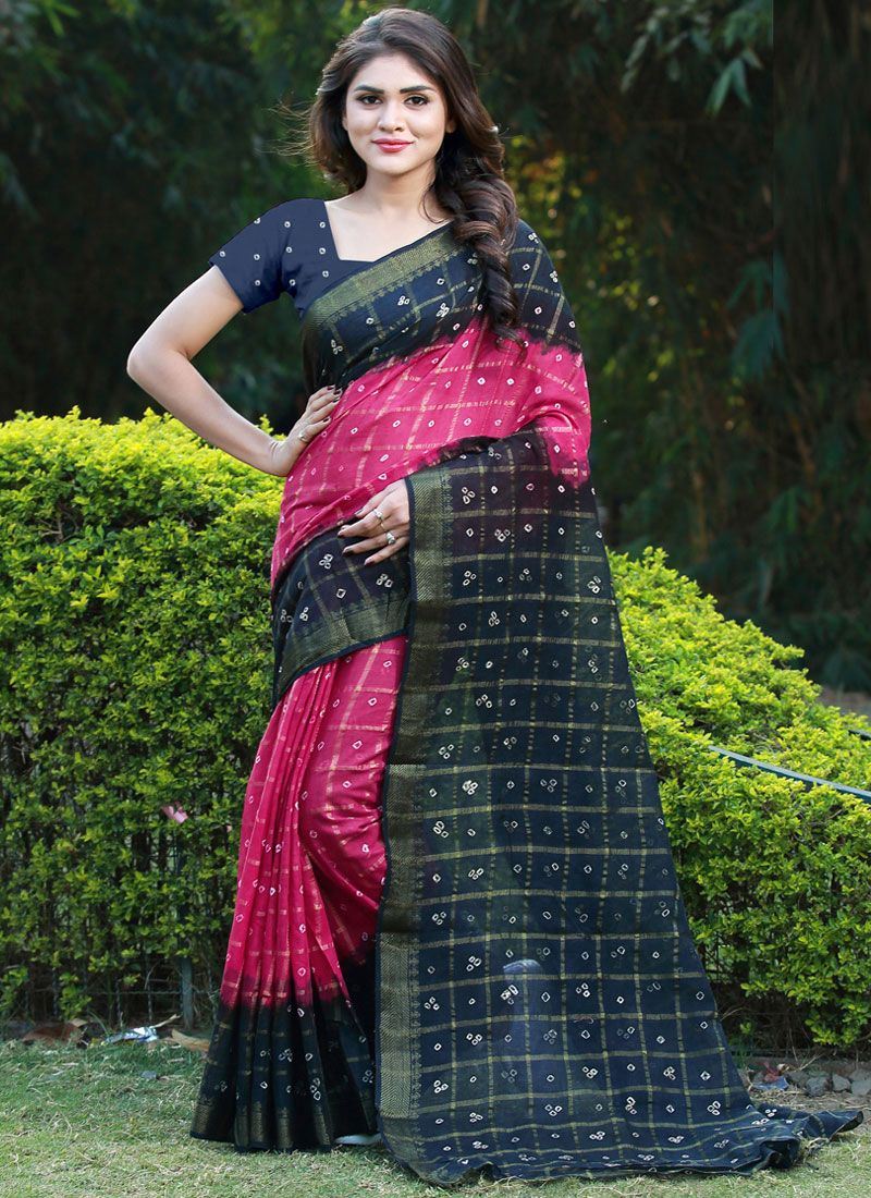 Multi Colour Casual Casual Saree