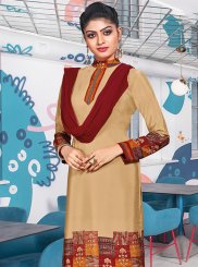 Multi Colour Casual Churidar Suit