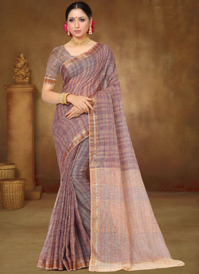 Multi Colour Ceremonial Classic Designer Saree