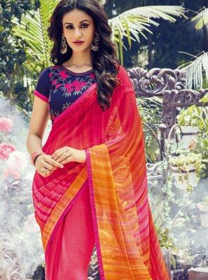Multi Colour Classic Designer Saree