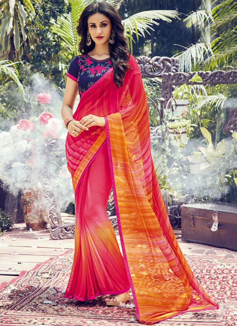 Multi Colour Classic Designer Saree