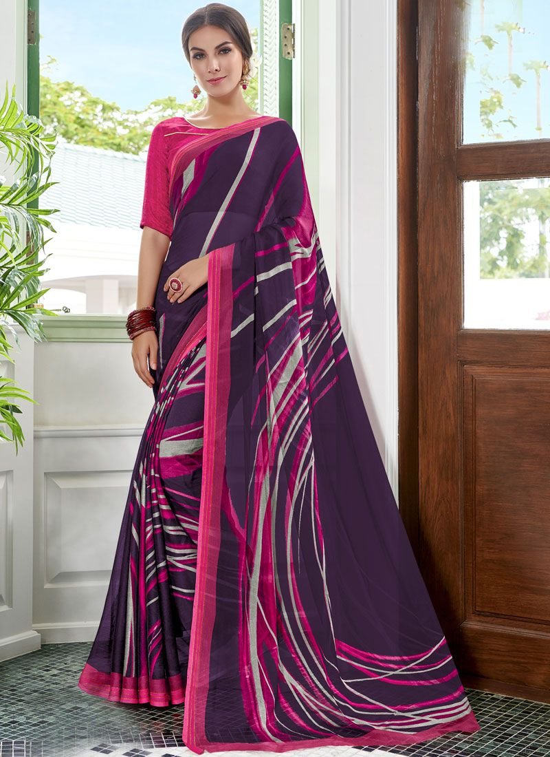 Multi Colour Color Casual Saree